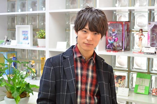代アニ在学生スペースクラフト・エンタテインメント所属堀田 怜央君