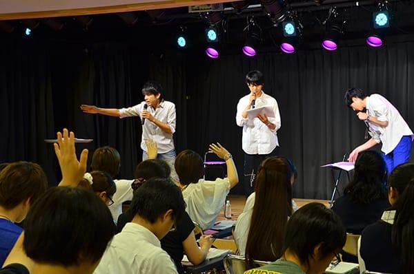 8月6日2.5次元演劇科体験入学