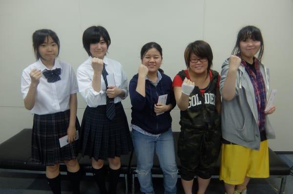 名古屋校在学生の萌えキャラ某人気アプリのストップに登録済み
