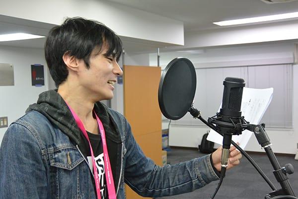 2016年アニメ学科卒業制作作品アフレコオーディションを声優タレント科とアニメ音響科の学生が実施!