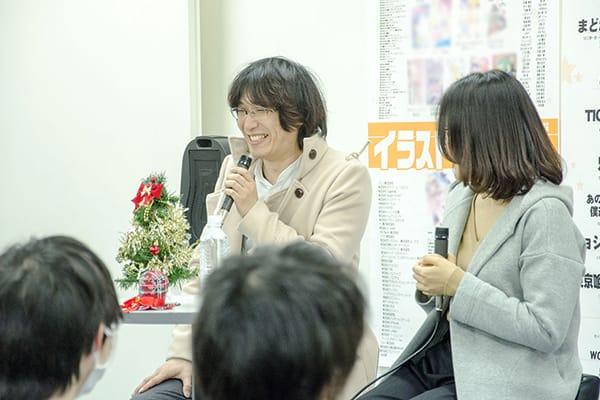 『ラブライブ!サンシャイン!!』『<物語>シリーズ』を手掛けた作画監督の代アニ卒業生Wゲスト!東京校で特別体験入学を実施しました