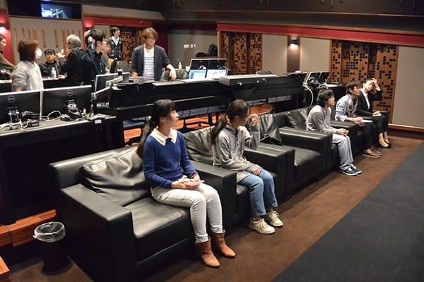 アニメ映画「好きになるその瞬間を。〜告白実行委員会〜」の制作現場を代アニ在校生が見学!プロの仕事を間近で体感!