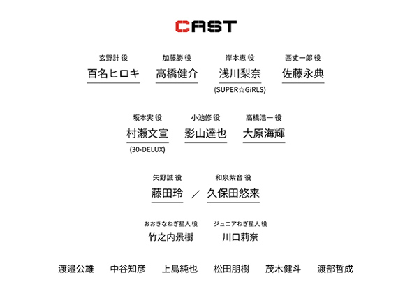 舞台「GANTZ:-L」に代アニ在学生【茂木健斗】君【渡部哲成】君が出演決定!