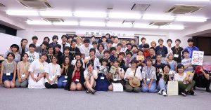 代アニでピザパーティー♪新聞奨学生交流会を開催しました!!