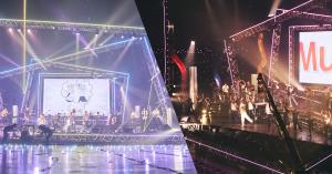 『天月-あまつき-』生配信ライブ@幕張メッセのバックダンサーとして学生がステージに立つ!
